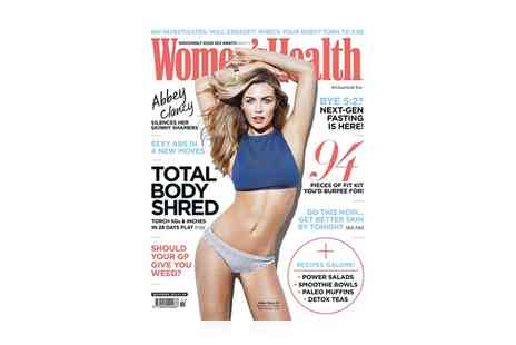 Hearst Magazines - 12 Month Womens Health Magazine Subscription - Save 51%