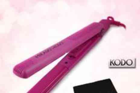 Blush Look - Kodo hair straightener and a heat pad from Blush Look - Save 75%