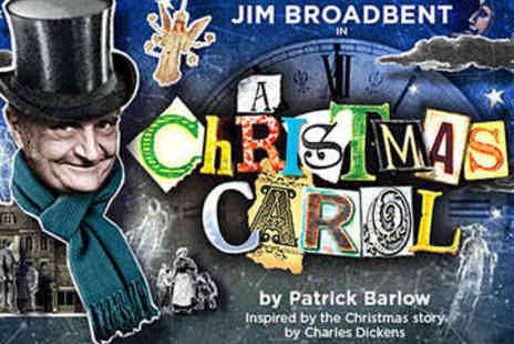 Noel Coward Theatre - A Christmas Carol Starring Jim Broadbent - Save 47%