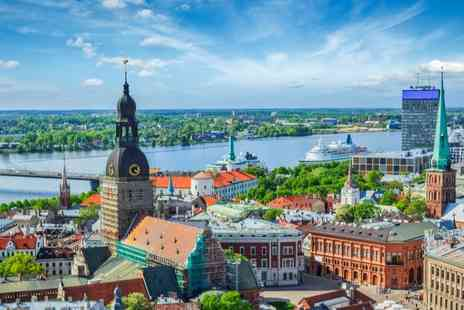 PK Hotel - Two, Three or Four Nights in Central Riga with Flights - Save 0%