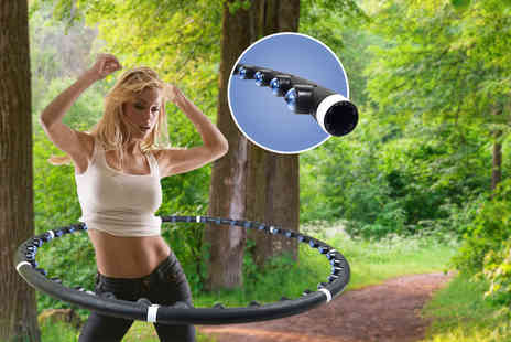 Gift Right - Magnetic massage and exercise hula hoop  - Save 82%