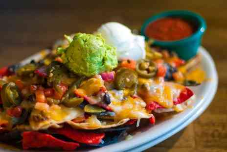 Nachos Restaurant - Two course Mexican meal for two - Save 57%