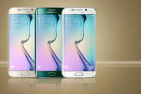 buymobiles - Samsung Galaxy S6 64GB in white, black or gold when you sign up to a 24 month contract  - Save 83%