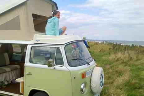 Sweet Campers - Luxury VW Camper Van Hire For Up To 4 With Welcome Pack, Sweet Hamper And Prosecco with Sweet Campers - Save 47%
