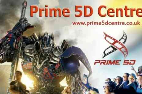 Prime 5D Centre - Simulator Experience for Two  - Save 50%