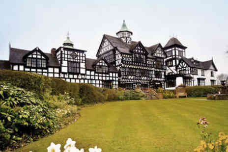 The Wild Boar Hotel - Overnihgt stay for two in Cheshire - Save 41%