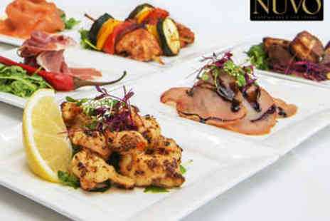NUVO - £50 to Spend on Food for Two - Save 50%