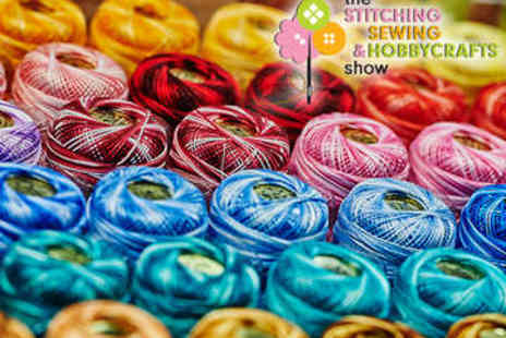 EventCity - Two Tickets to Stitching, Sewing & Hobbycrafts Show - Save 50%