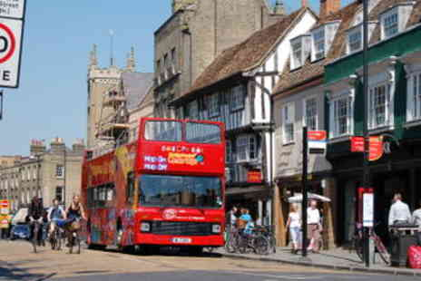 Viator - City Sightseeing Cambridge Hop On Hop Off Tour - Save 0%