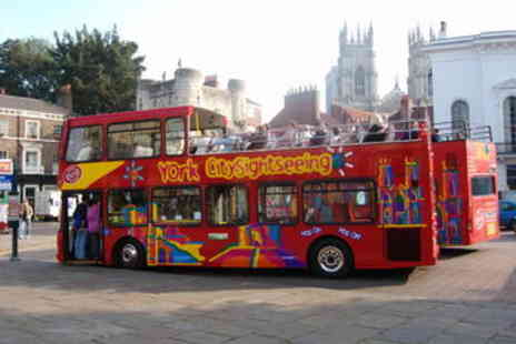 Viator - City Sightseeing York Hop On Hop Off Tour - Save 0%