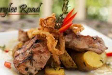 Merrylee Road - Two Courses of Brasserie Fare For Two With Large Glass of Wine Each - Save 61%