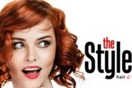 The Style Room - Half Head of Highlights or Full Head Tint With Cut, Blow Dry, and Conditioning - Save 64%