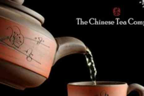 The Chinese Tea Company - Chinese Tea Tasting For Two With Snacks - Save 50%
