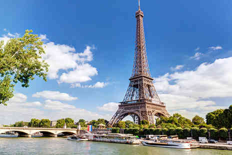 Short Breaks - Paris day trip including Eurostar transport, a Seine river cruise and either an Eiffel Tower lunch or Choco Story Museum entrance - Save 53%