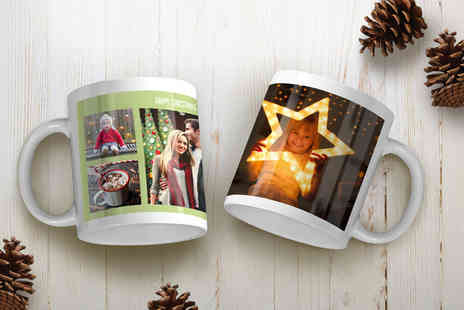 Snapfish - Personalised Photo Mug - Save 75%