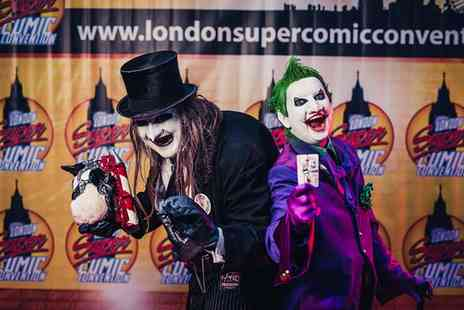 London Super Comic Convention - Groupon Exclusive Early Sunday Entry to London Super Comic Convention, 21st February  - Save 0%