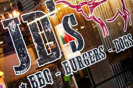 JDs BBQ Shack - Burger and Fries For Two - Save 50%
