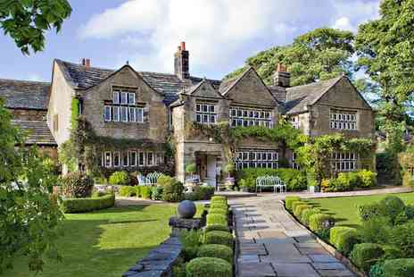 Holdsworth House Hotel & Restaurant - Overnight Historic Yorkshire Manor Break with Meals - Save 44%
