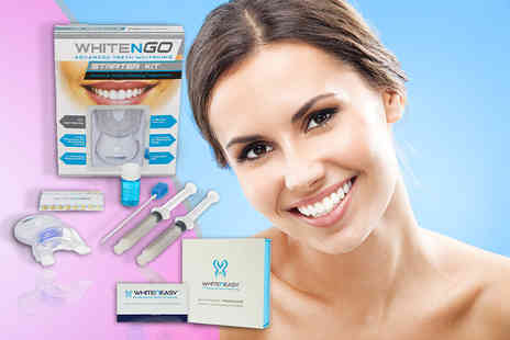 DVA Beautique - Seven piece teeth whitening starter kit and 14 whitening strips - Save 0%