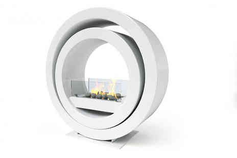 Imaginfires - Free standing bioethanol Globus fireplace - Save 50%