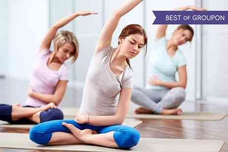 Move GB - Ten Sessions of Yoga, Pilates and More  - Save 79%