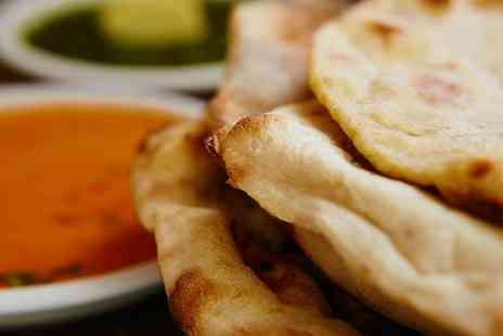 Indie Roots - Two Course Indian Meal with Optional Wine for Two  - Save 65%