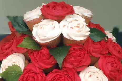 The Costa Cupcake Company - Cupcake Bouquets with personalised note with Free Delivery - Save 0%
