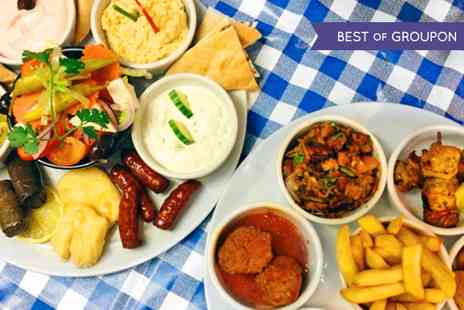 Simply Greek Tavern - Greek Meze Dining Experience for Two - Save 50%