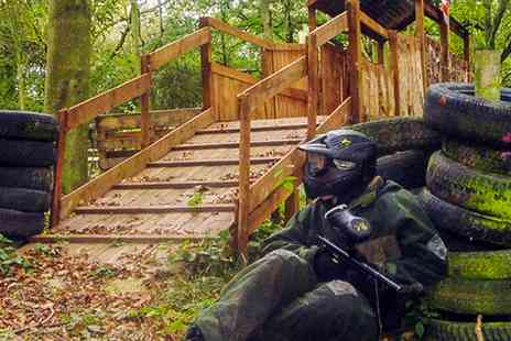 Patriot Paintball - Paintball Plus Ammo for Five - Save 90%