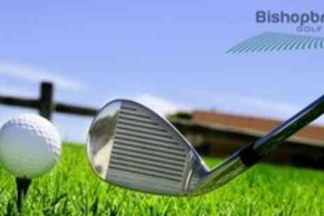 Bishopbriggs Golf Range - Four 60 Minute Kids Golf Lessons With PGA Professional - Save 61%