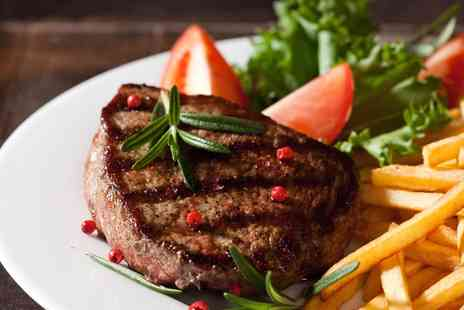 The Oak Inn - Steak Meal for Two  - Save 28%