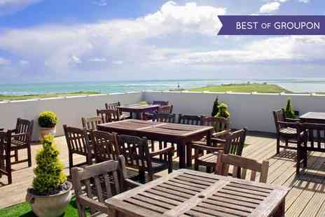 The Ocean Hotel - One or Two Nights stay For Two With Breakfast With Option For Dinner, Prosecco And Chocolates  - Save 40%