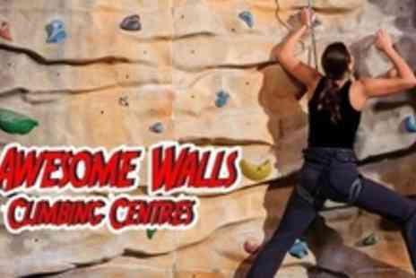 Awesome Walls Stockport - Four Day Easter Climbing Academy - Save 63%