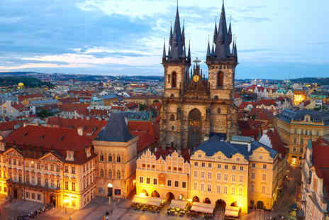 Courtyard by Marriott Prague City - Three nights Stay  in a Guest Room For TWO - Save 70%