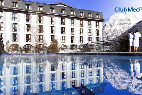 Club Med Chamonix Mont Blanc - Seven  nights stay  in a Club Room For Two - Save 16%