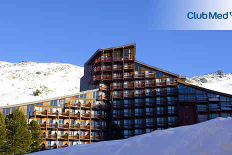 Club Med Arcs Extreme - Seven nights stay in a Club Room For two - Save 16%