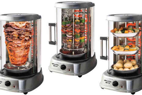 Lol Bargains - Five in One Rotisserie Grill - Save 58%