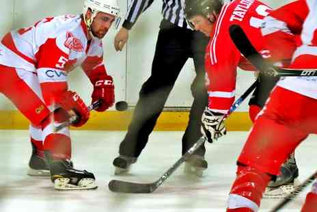 Haringey Racers - Tickets to a choice of Haringey Racers ice hockey match  - Save 50%