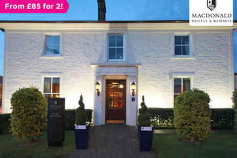 Macdonald Crutherland House - One night stay for two with breakfast - Save 0%