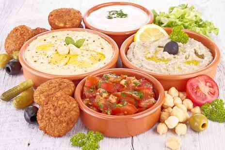 Mangal Turkish Restaurant - Cold Turkish Meze and Sharing Chicken Platter for Up to Six  - Save 0%