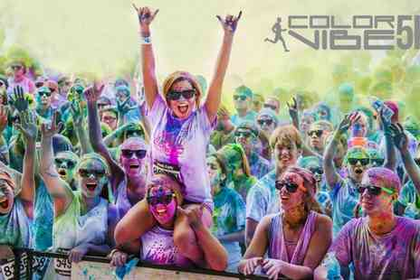 Color Vibe - Ticket to the Edinburgh 5K Color Run - Save 33%