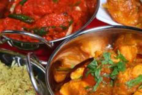 7 Spices - Two course Indian meal with sides and drinks for two - Save 61%