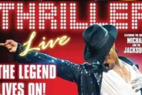Lyric Theatre -  Two Upper Circle Tickets to Thriller Live - Save 51%