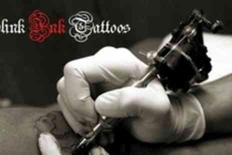 Slink Ink Tattoos - Two Small Tattoos or One Medium Tattoo - Save 65%