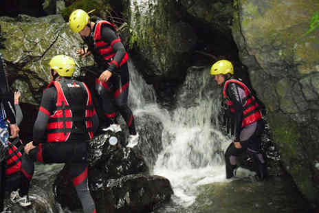 Go 4 it Activities Wales - £24 for three hours of gorge walking or coasteering, including a packed lunch and a DVD to take home worth £65 - save 63% - Save 63%