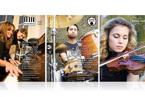 Purely Musical - Piano, Ukulele, Violin or Drums Package  - Save 75%