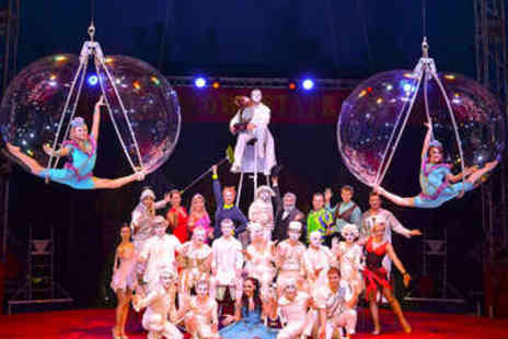 The Moscow State Circus - Grandstand Ticket to The Moscow State Circus - Save 55%