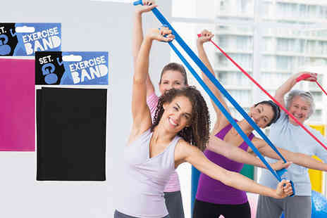 Urshu - Two Resistance Exercise Bands - Save 58%