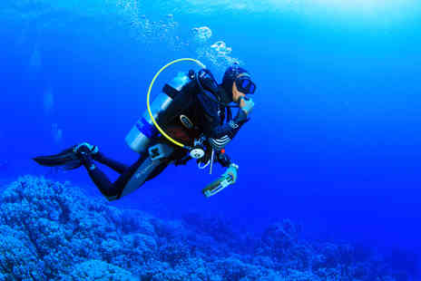 Divemaster Scuba - Two hour scuba diving lesson for two - Save 64%