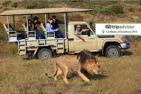 Botlierskop Private Game Reserve - Five nightS full board South African safari including daily game drives - Save 27%